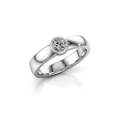 Ring Ise 1 950 platinum diamond 0.30 crt