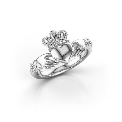 Picture of Ring Claddagh 1 950 platinum