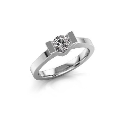 Picture of Engagement ring Sherley 1 950 platinum diamond 0.40 crt