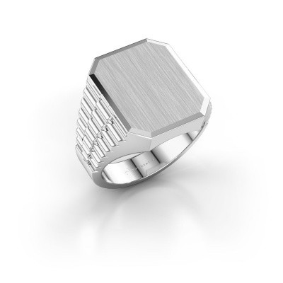 Foto van Rolex stijl ring Erik 4 585 witgoud