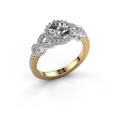 Verlovingsring Sasja 585 goud diamant 1.325 crt