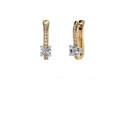Oorbellen Valorie 585 goud diamant 0.98 crt