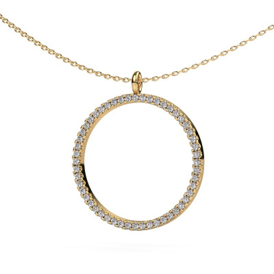 Picture of Pendant Towanda 585 gold diamond 0.39 crt