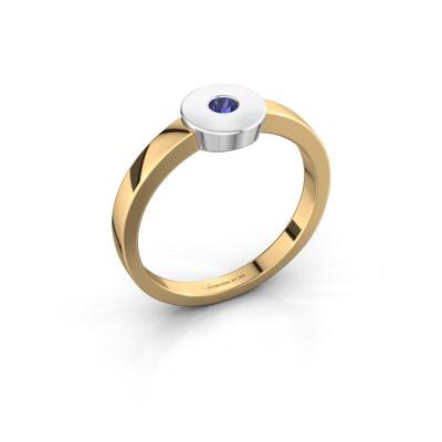 Ring Elisa 585 Gold Saphir 3 mm