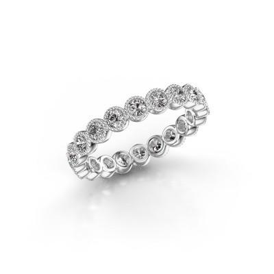 Foto van Ring Mariam 0.05 585 witgoud lab-grown diamant 1.10 crt