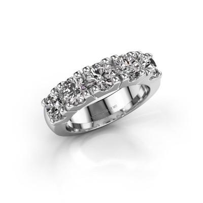 Foto van Ring Rianne 5 585 witgoud diamant 2.50 crt