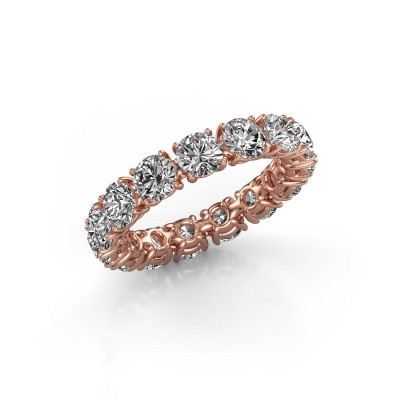 Picture of Ring Vivienne 4.2 375 rose gold diamond 4.50 crt