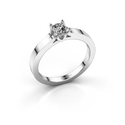 Foto van Belofte ring Eliz 925 zilver lab-grown diamant 0.30 crt