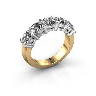 Picture of Promise ring Michelle 5 585 gold diamond 0.40 crt
