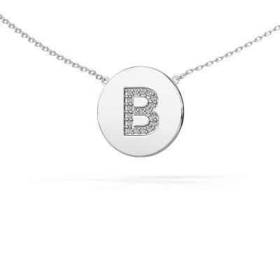 Foto van Letter hanger Initial 050 925 zilver