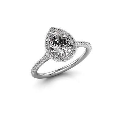 Foto van Verlovingsring Seline per 2 950 platina diamant 1.245 crt