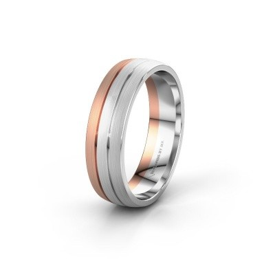 Foto van Trouwring WH0400M26AM 585 rosé goud ±6x1.7 mm