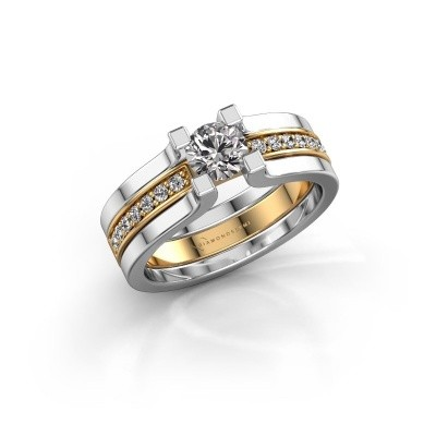 Foto van Verlovingsring Myrthe 585 goud lab-grown diamant 0.668 crt