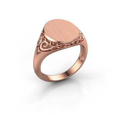 Picture of Signet ring Sheilah 3 585 rose gold