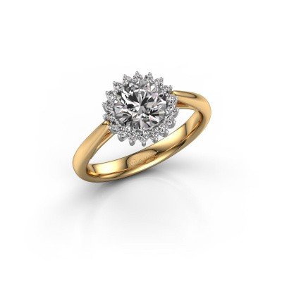 Engagement ring Tilly RND 1 585 gold diamond 1.00 crt