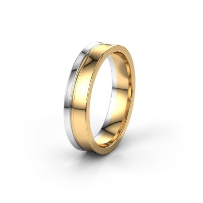 Weddings ring WH6090M55A 585 gold ±5x1.7 mm