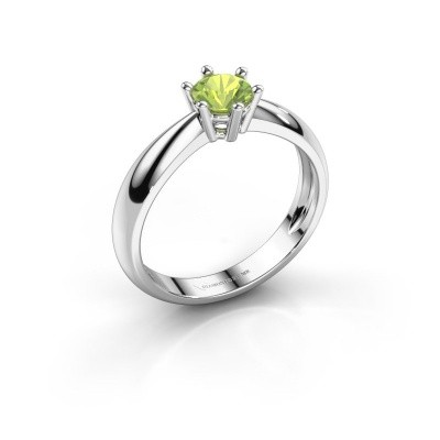 Bild von Verlobungsring Fay 585 Weißgold Peridot 5 mm