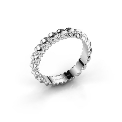 Picture of Stackable ring Vera 585 white gold