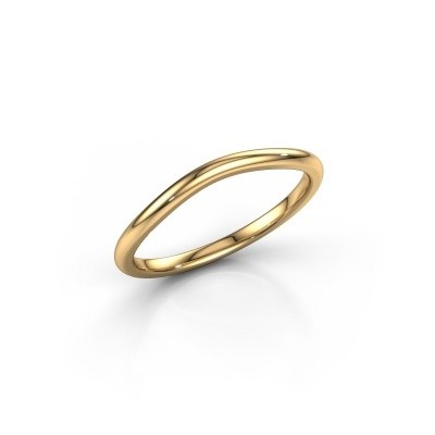 Stackable ring SR30A4 375 gold
