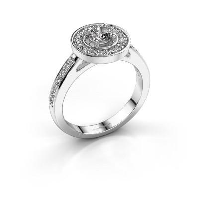 Foto van Verlovingsring Lisanne 585 witgoud diamant 0.55 crt