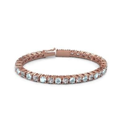 Tennisarmband Ming 375 rosé goud lab-grown diamant 17.00 crt