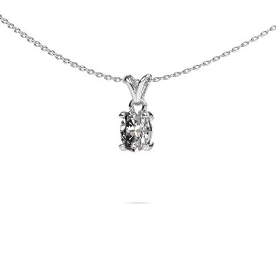 Picture of Necklace Lucy 1 585 white gold diamond 0.80 crt