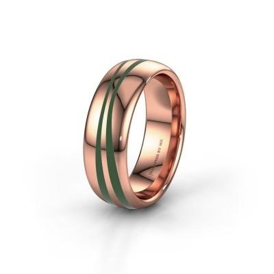 Weddings ring WH2226M36BP 585 rose gold ±0.28x0.08 in