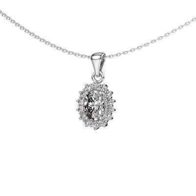 Foto van Hanger Margien 585 witgoud lab-grown diamant 0.80 crt
