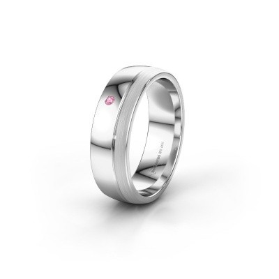 Ehering WH0301L26APM 925 Silber Pink Saphir ±6x1.7 mm