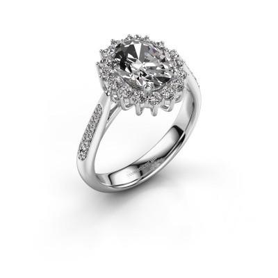 Foto van Verlovingsring Margien 2 585 witgoud lab-grown diamant 0.80 crt