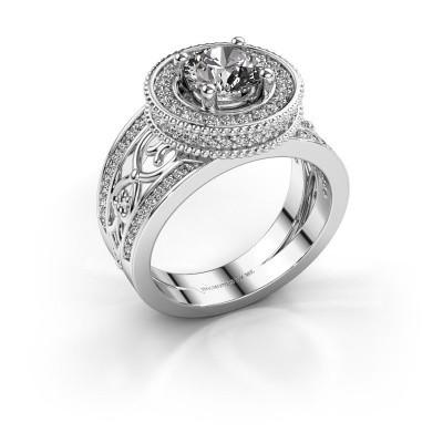 Ring Joy 950 platina lab-grown diamant 1.596 crt