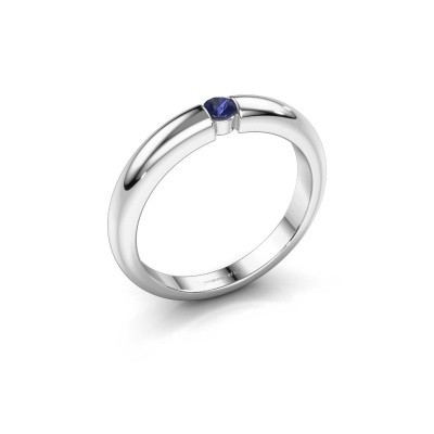 Picture of Engagement ring Amelia 585 white gold sapphire 3 mm