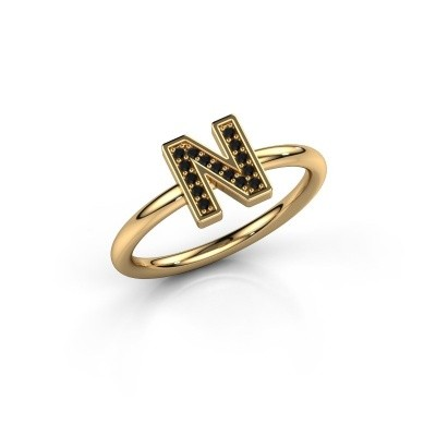 Picture of Ring Initial ring 110 585 gold