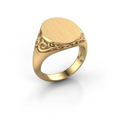 Foto van Heren ring Jelle 4 375 goud