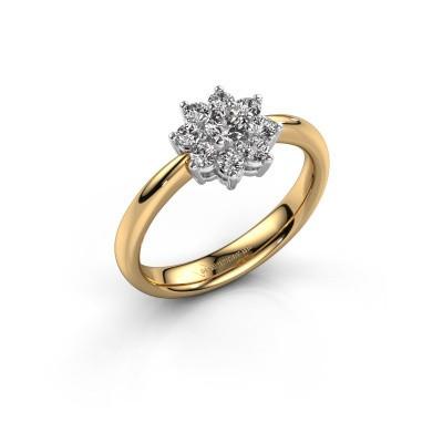 Foto van Verlovingsring Camille 1 585 goud diamant 0.15 crt