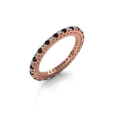 Foto van Aanschuifring Rufina 1 375 rosé goud lab-grown diamant 0.660 crt