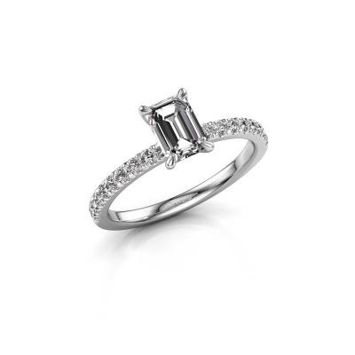 Foto van Verlovingsring Crystal EME 2 585 witgoud lab-grown diamant 0.90 crt