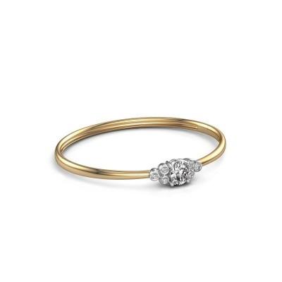 Foto van Slavenarmband Lucy 585 goud lab-grown diamant 1.27 crt