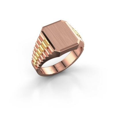 Signet ring Erik 2 585 rose gold
