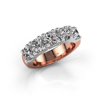 Picture of Engagement ring Rianne 5 585 rose gold diamond 2.50 crt