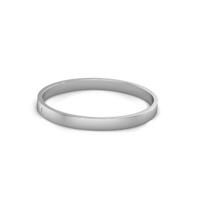 Photo de Bracelet jonc Edra 10mm 950 platine