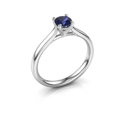 Picture of Engagement ring Mignon rnd 1 925 silver sapphire 5 mm