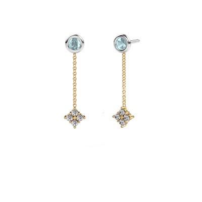 Oorhangers Ardith 585 goud lab-grown diamant 0.24 crt