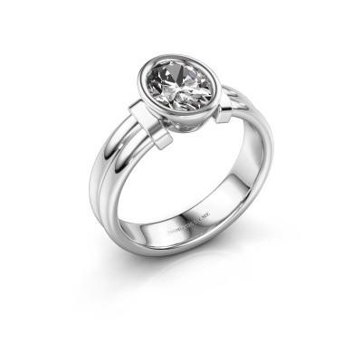 Foto van Ring Gerda 925 zilver diamant 1.15 crt