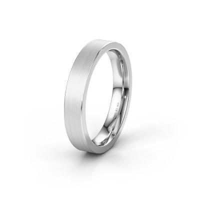 Friendship ring WH2133M14BM 585 white gold ±4x2 mm