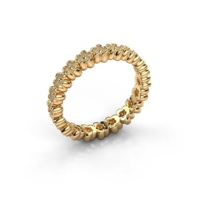 Aanschuifring Charolette 375 goud