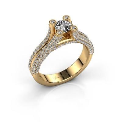 Verlobungsring Stefanie 2 375 Gold Lab-grown Diamant 1.50 crt