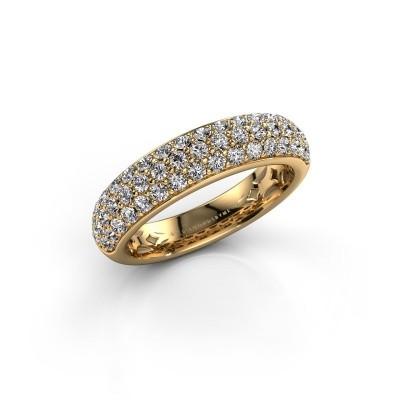 Foto van Ring Emely 6 375 goud zirkonia 1.7 mm
