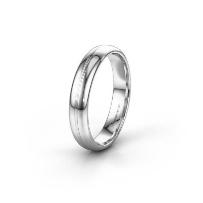 Wedding ring WH2142M34A 950 platinum ±4x1.7 mm