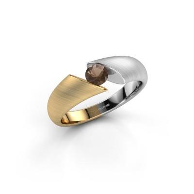 Foto van Ring Hojalien 1 585 goud rookkwarts 4.2 mm
